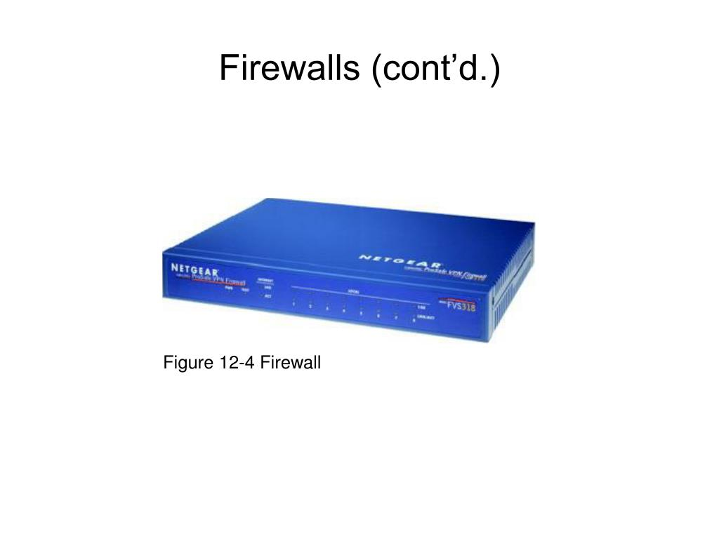 Figure 12-4 Firewall