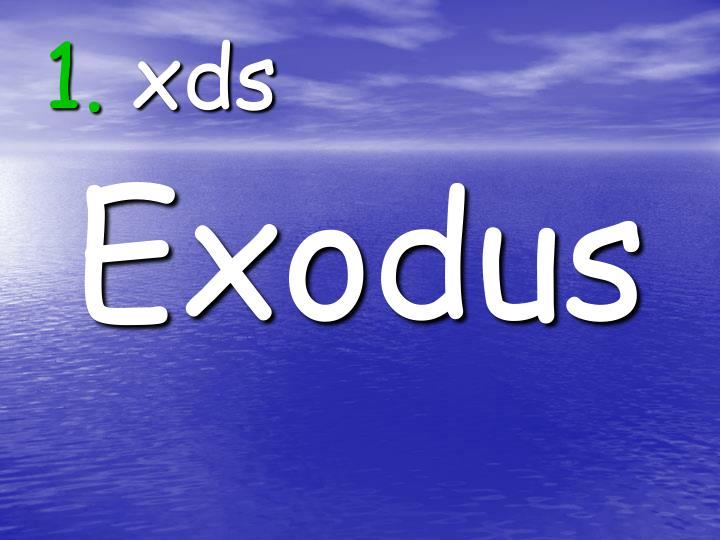 1 xds