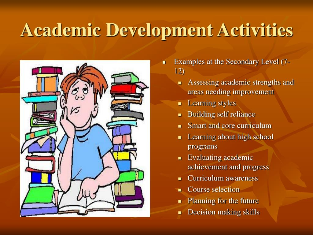 Academic Development Activities