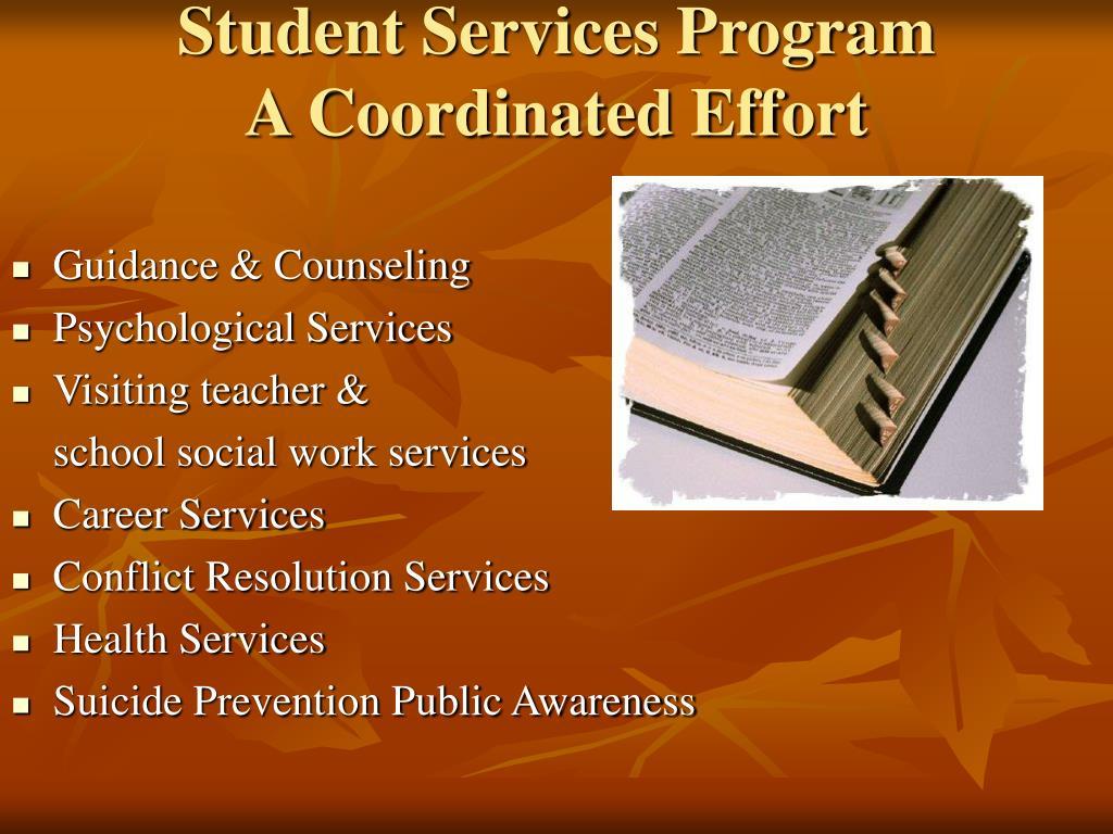 Student Services Program