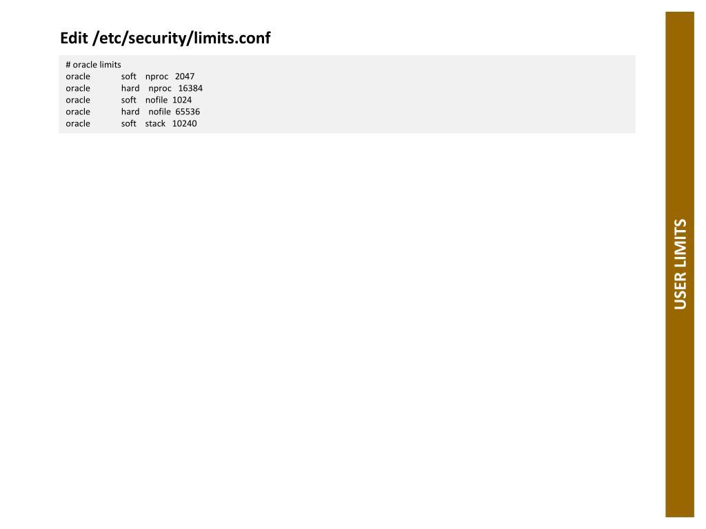 Edit /etc/security/limits.conf