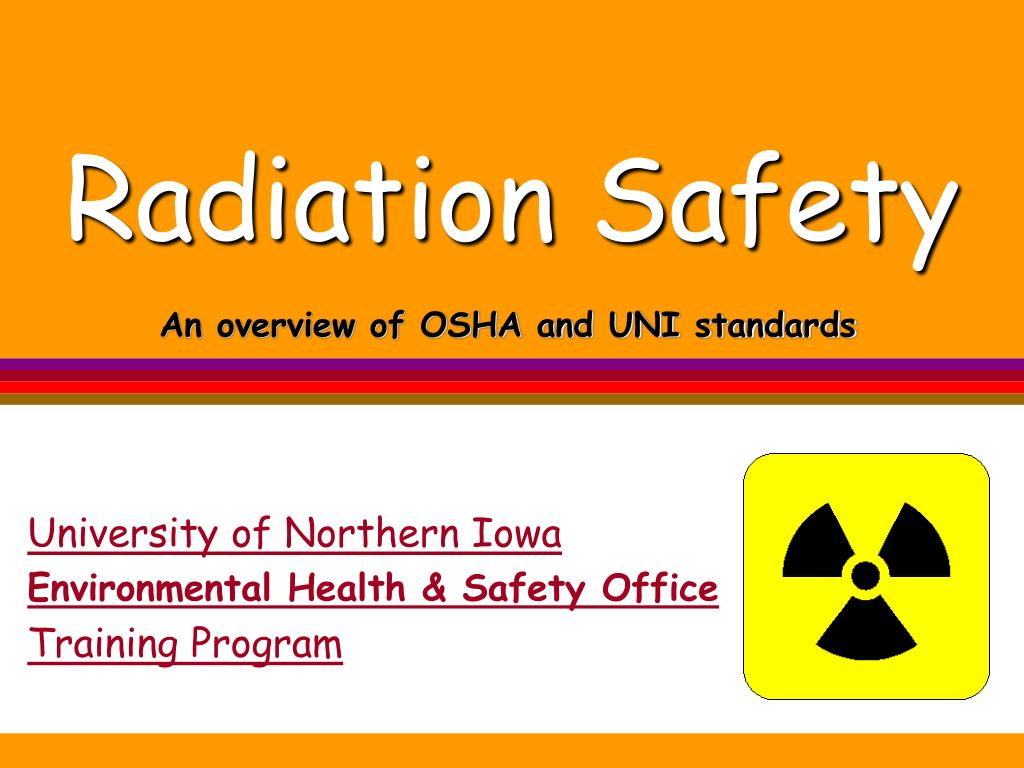 radiation safety l.