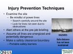 injury prevention techniques15