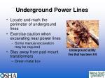 underground power lines22