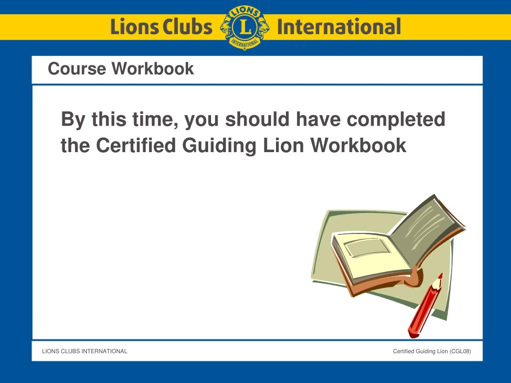 Course Workbook