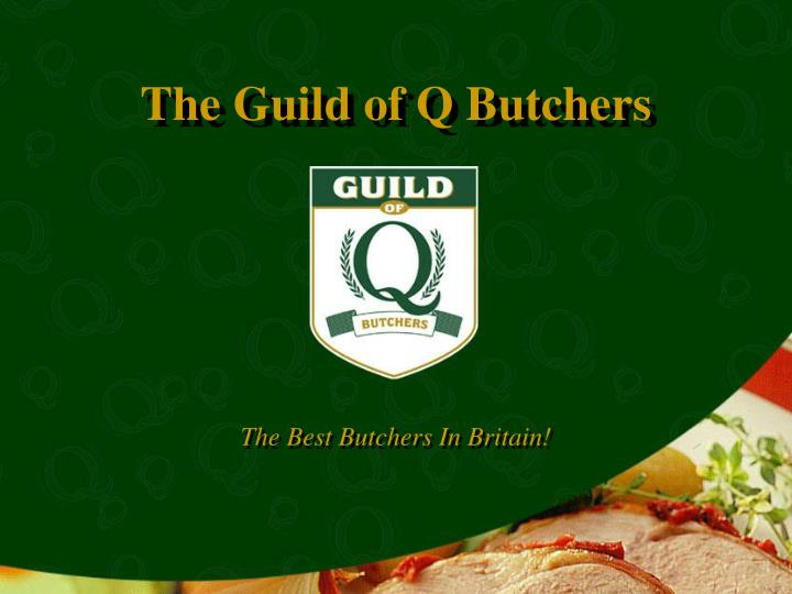 The best butchers in britain