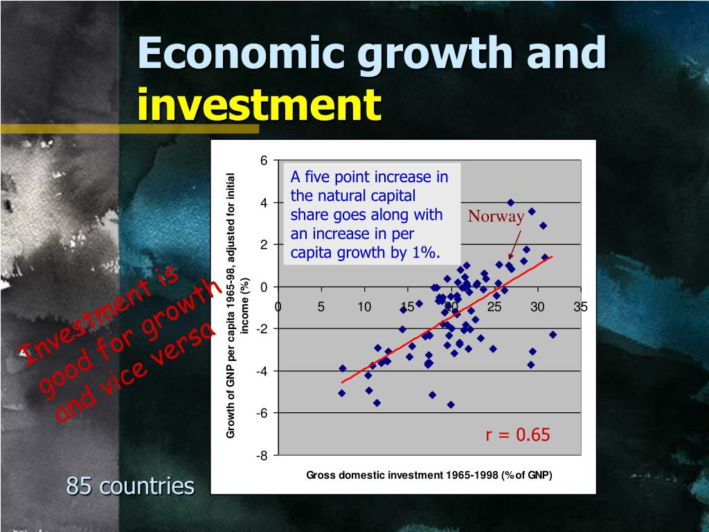 Economic growth and