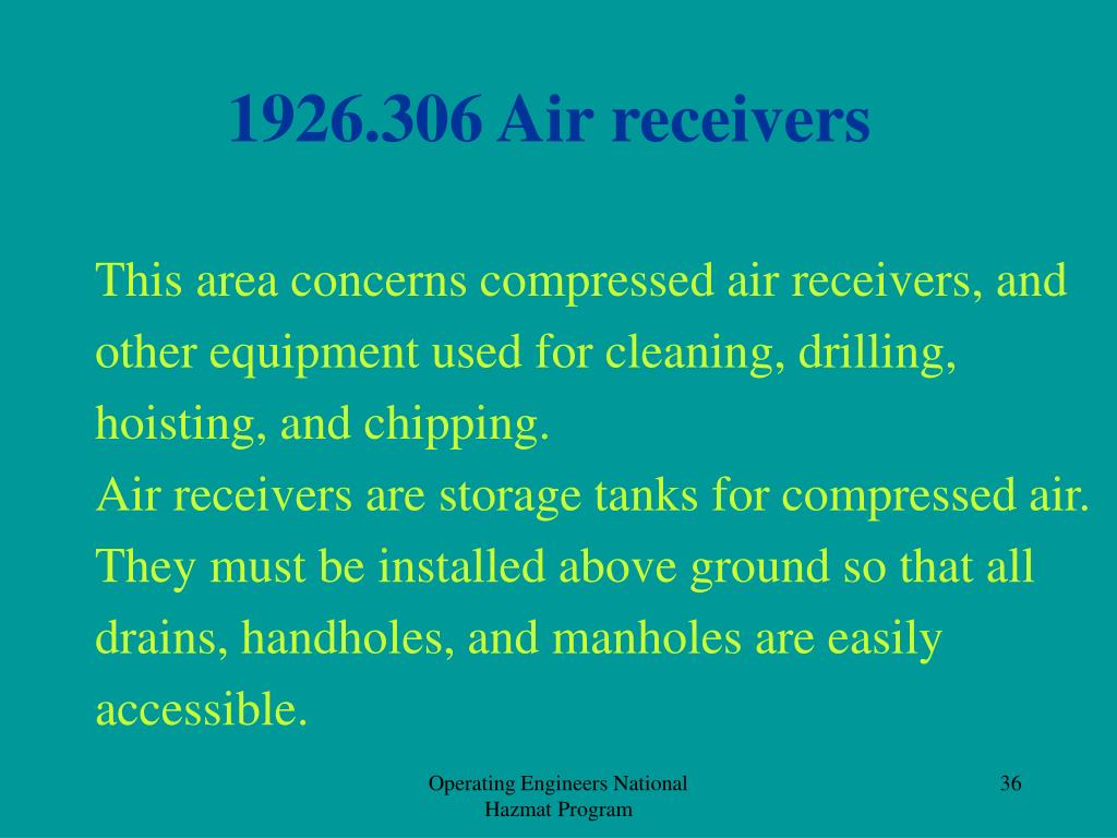 1926.306 Air receivers