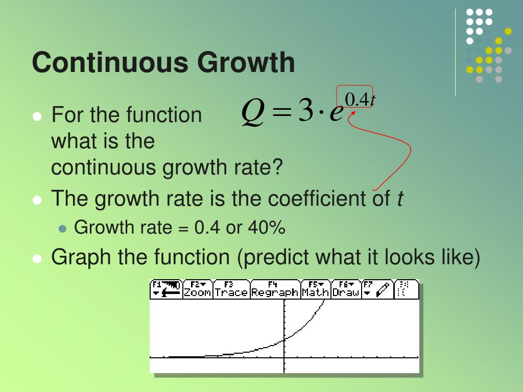 Continuous Growth