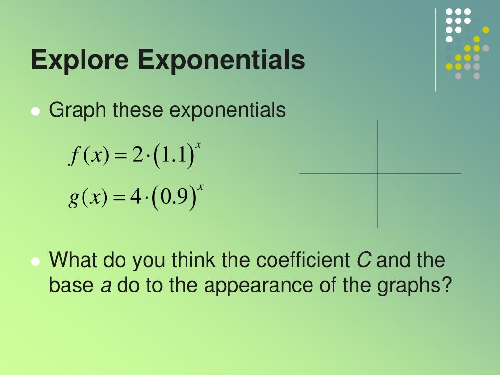 Explore Exponentials