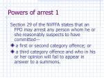 powers of arrest 1