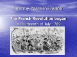 stormy years in france11