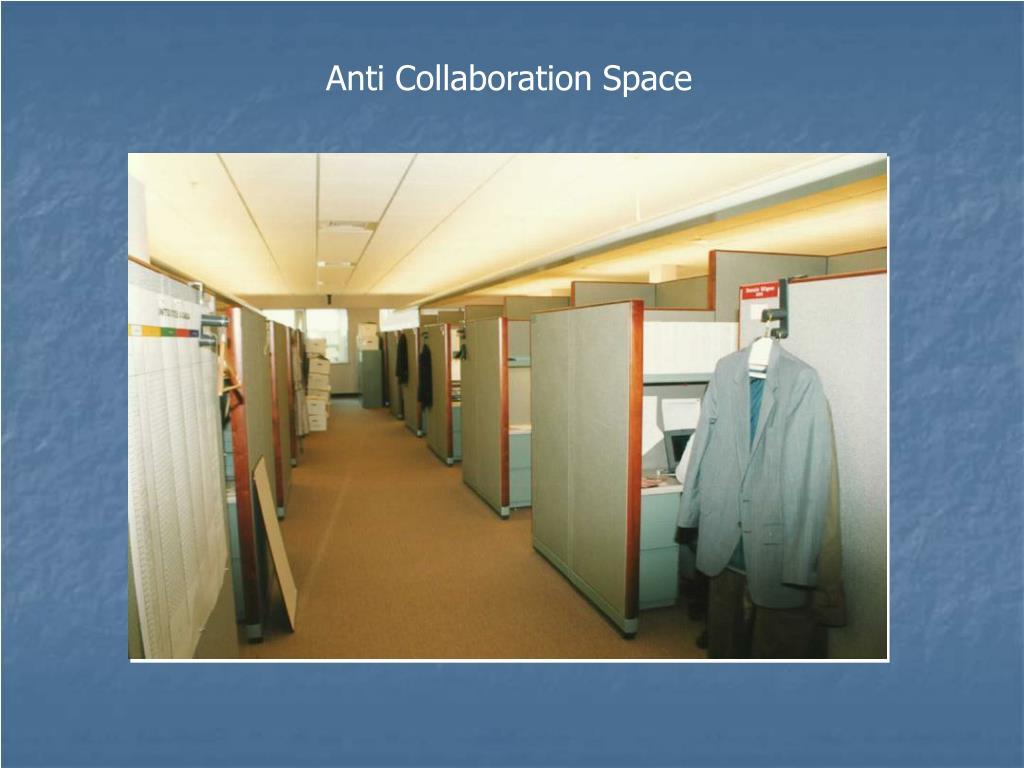 Anti Collaboration Space