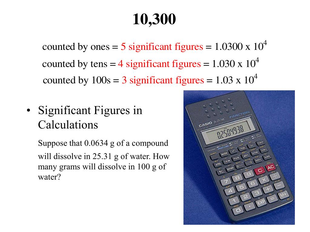 Significant Figures in
