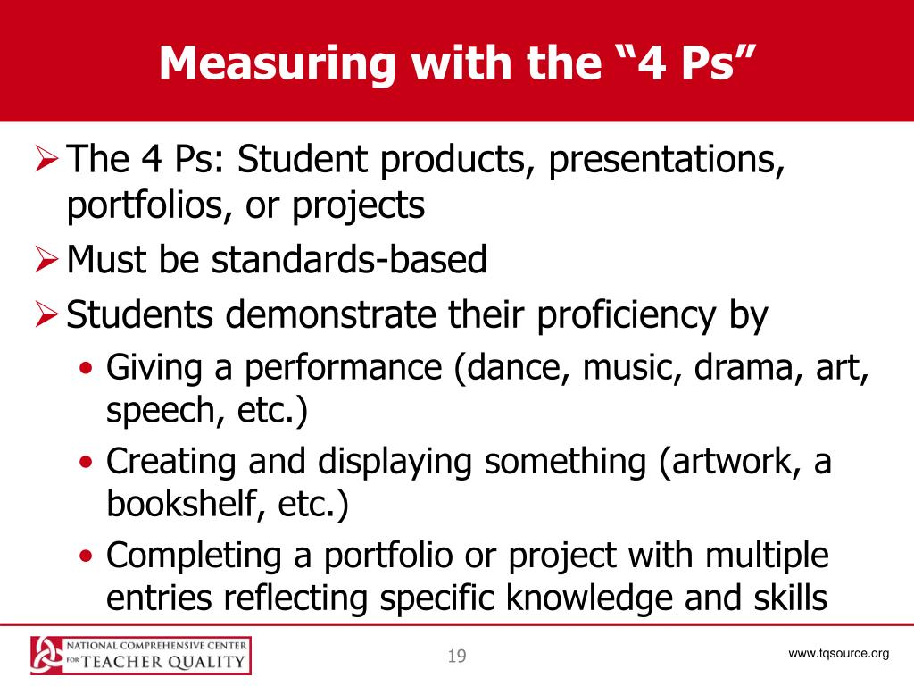 "Measuring with the ""4 Ps"""