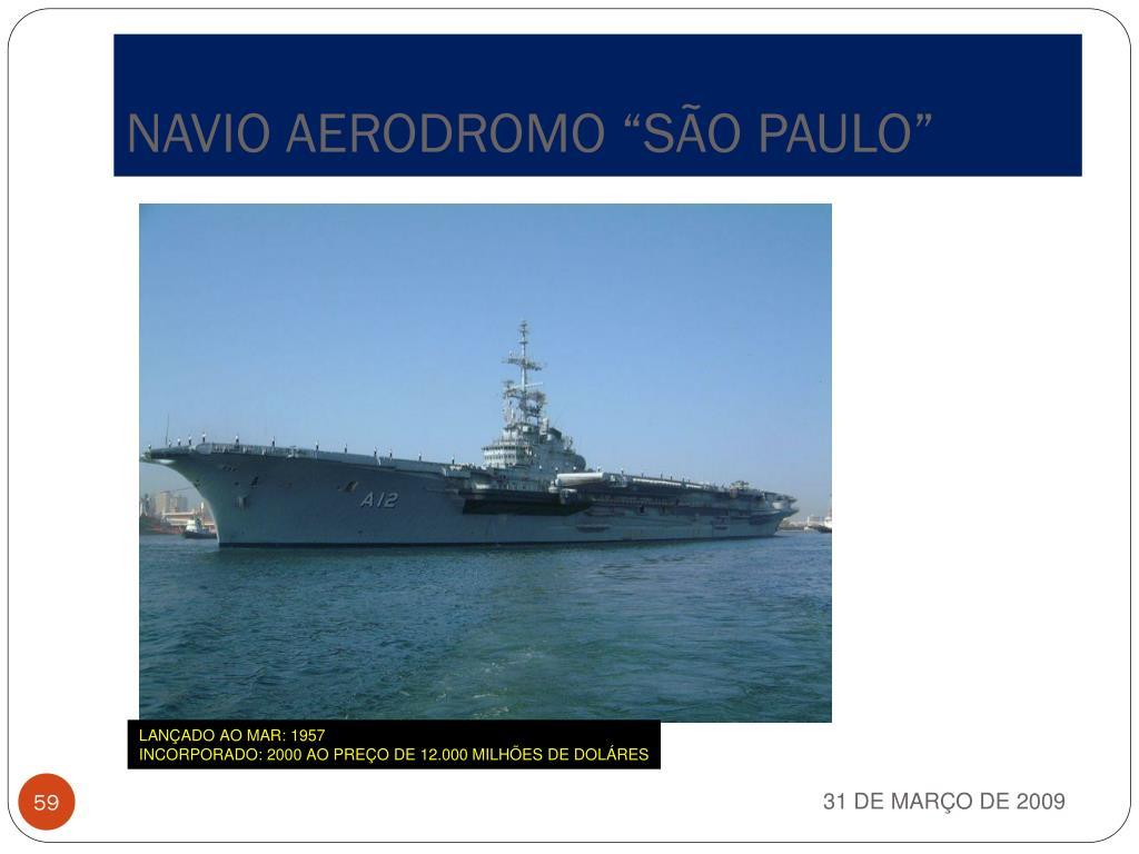 """NAVIO AERODROMO """"SÃO PAULO"""""""