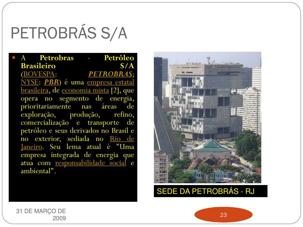 PETROBRÁS S/A