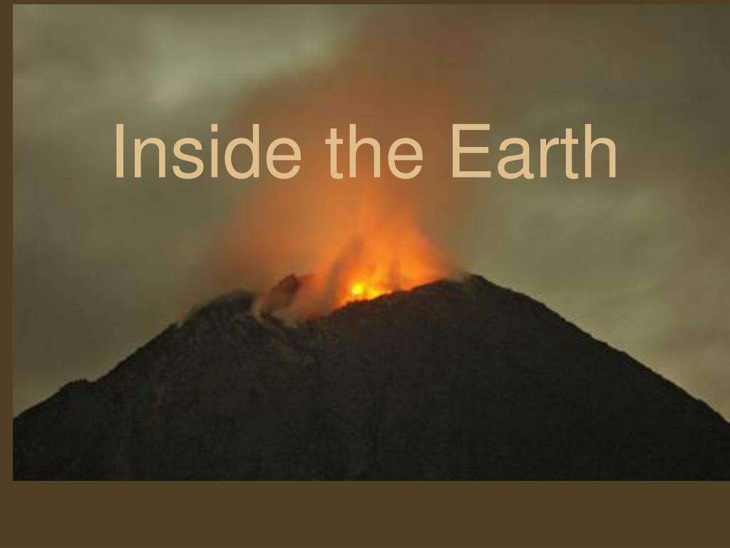 inside the earth l.