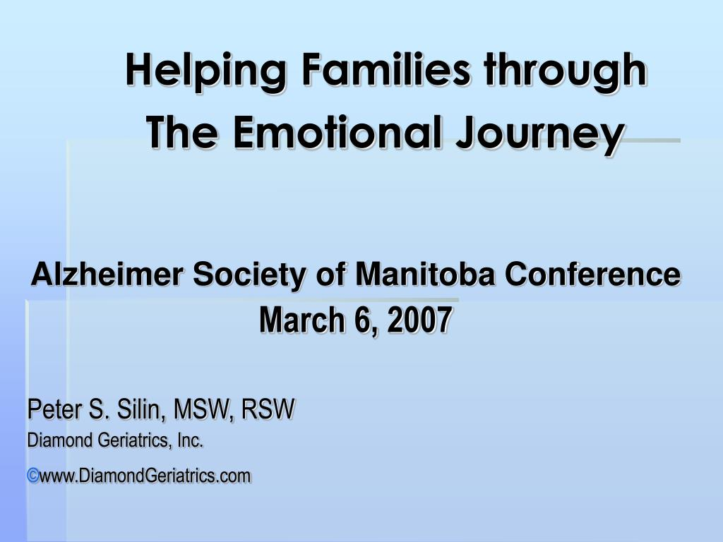 helping families through the emotional journey l.