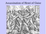 assassination of henri of guise