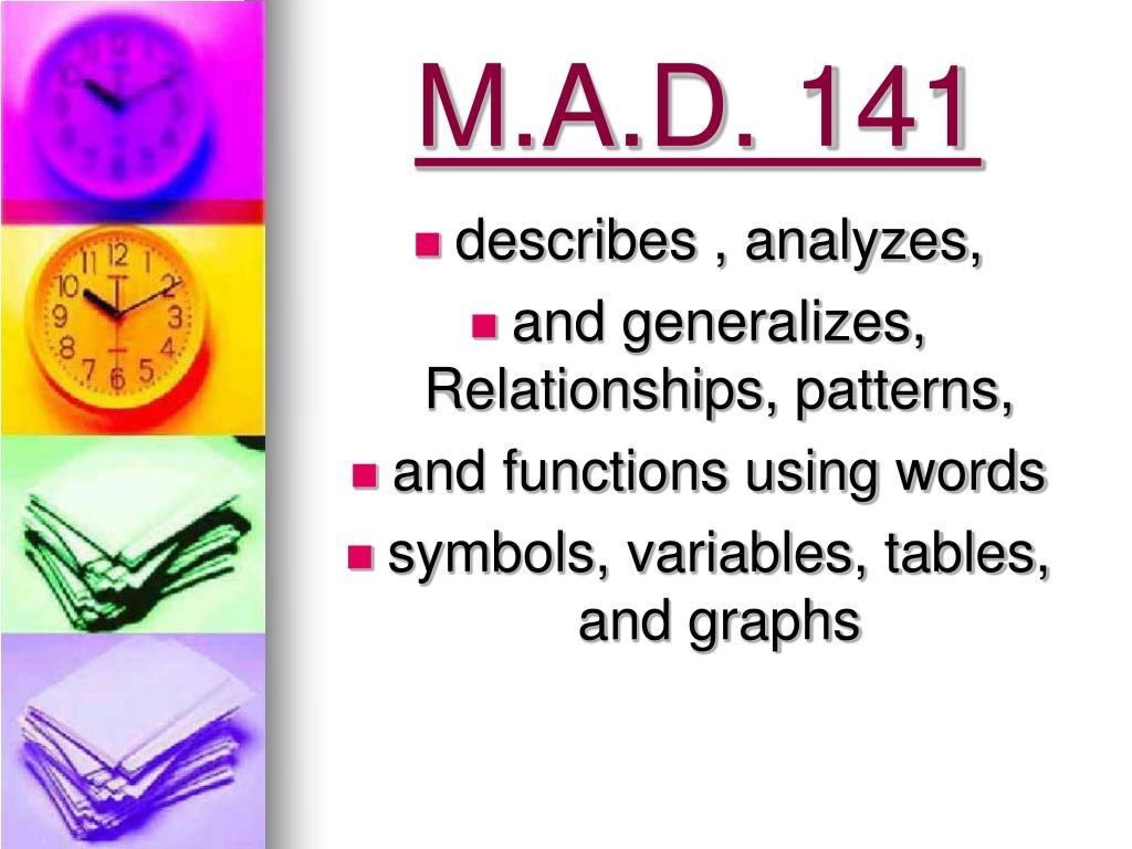 M.A.D. 141