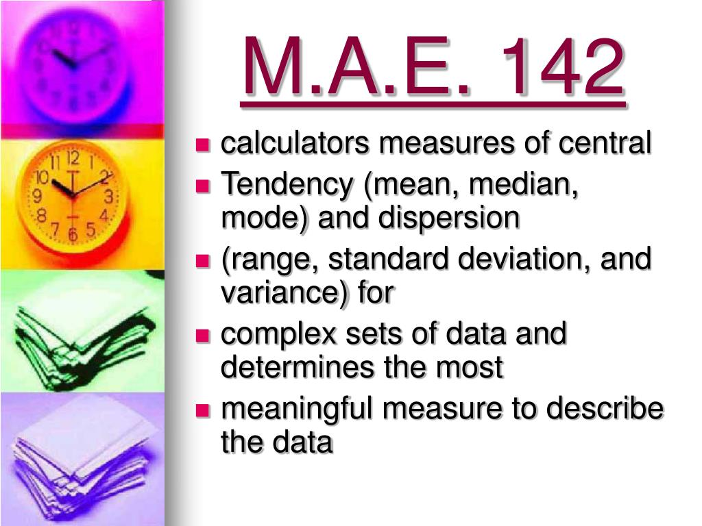 M.A.E. 142