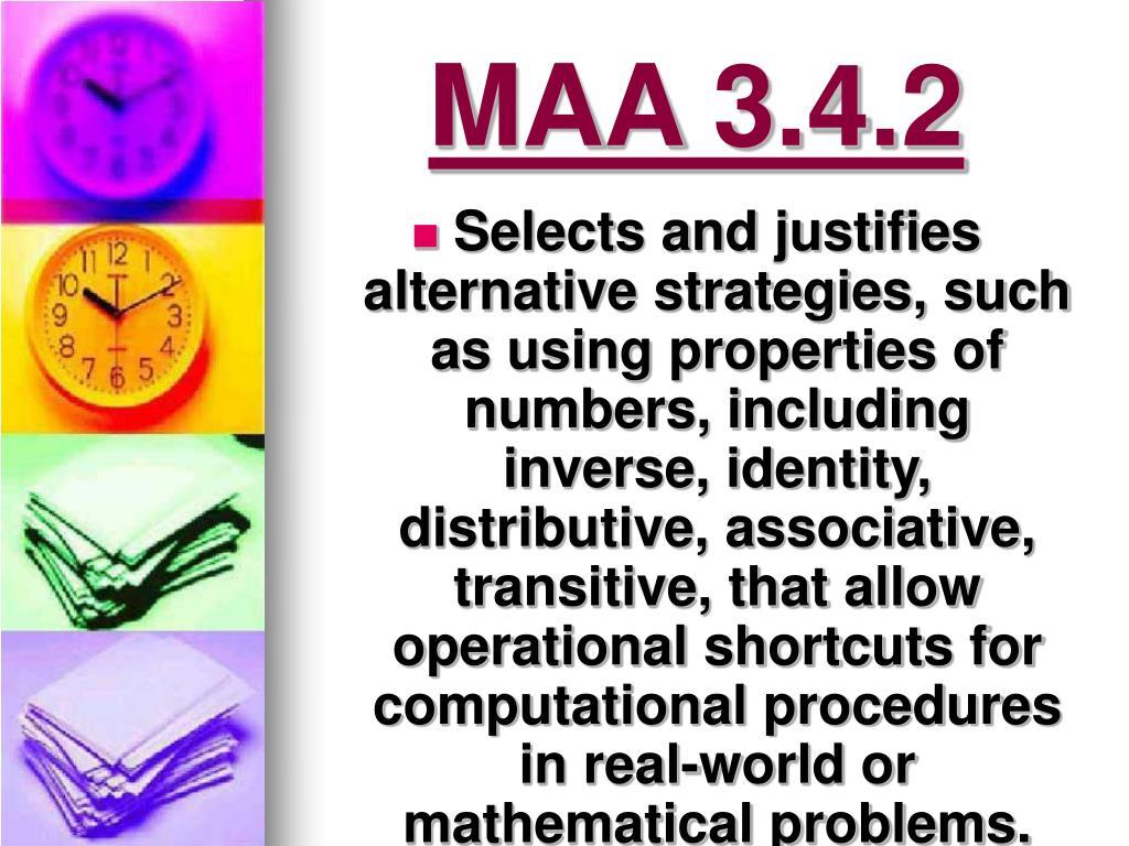 MAA 3.4.2
