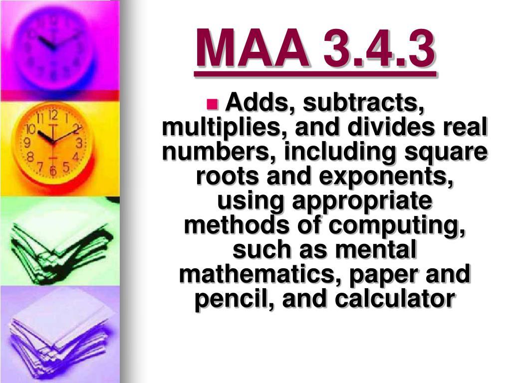 MAA 3.4.3