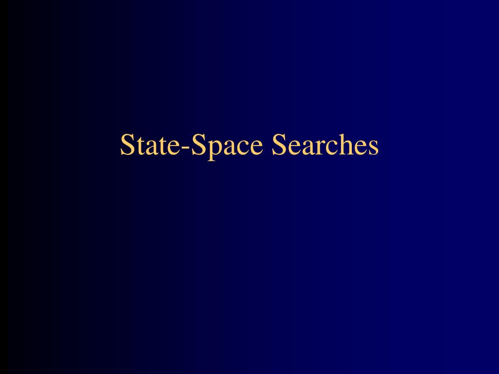 State-Space Searches