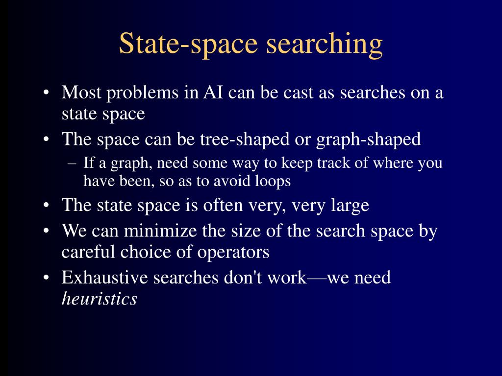 State-space searching