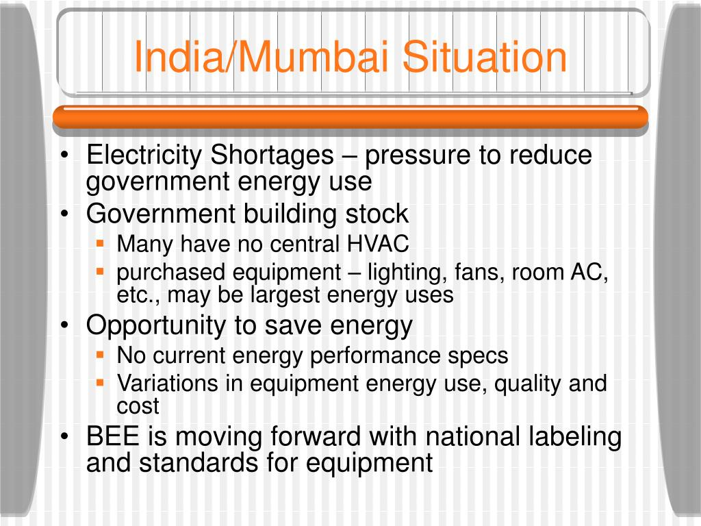 India/Mumbai Situation