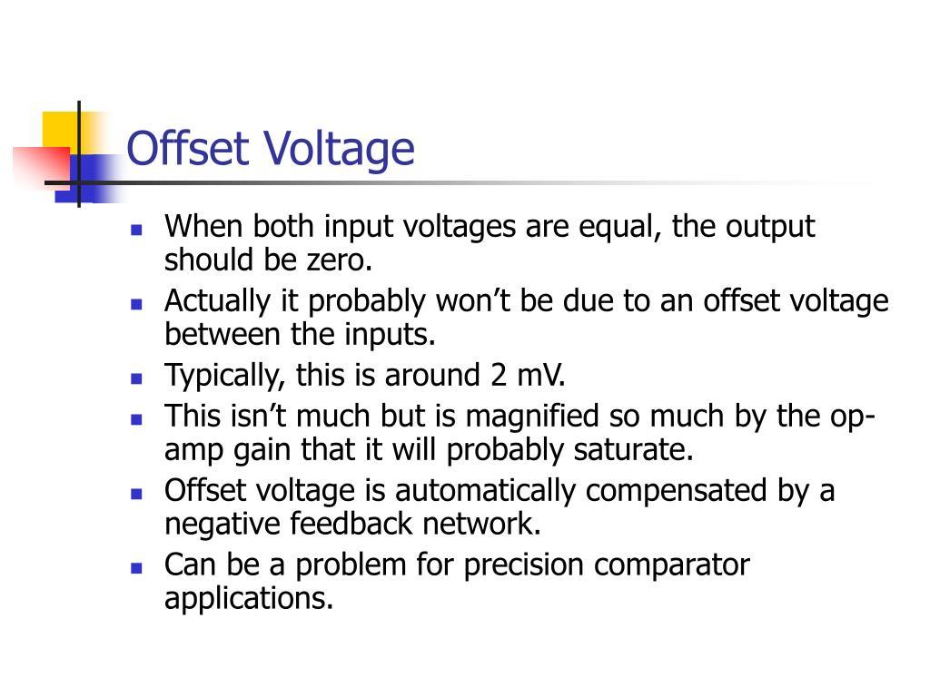 Offset Voltage