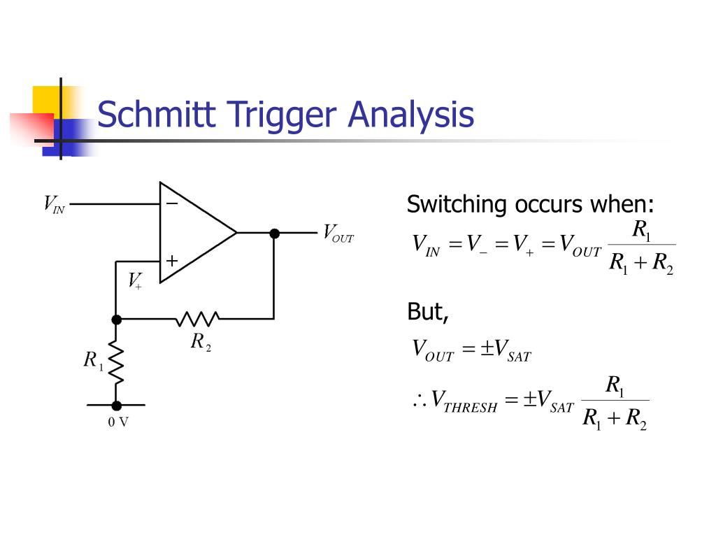 Switching occurs when: