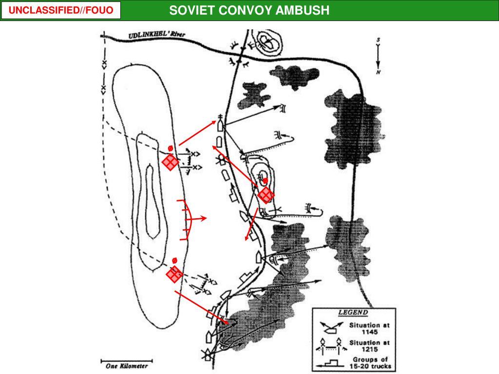 SOVIET CONVOY AMBUSH