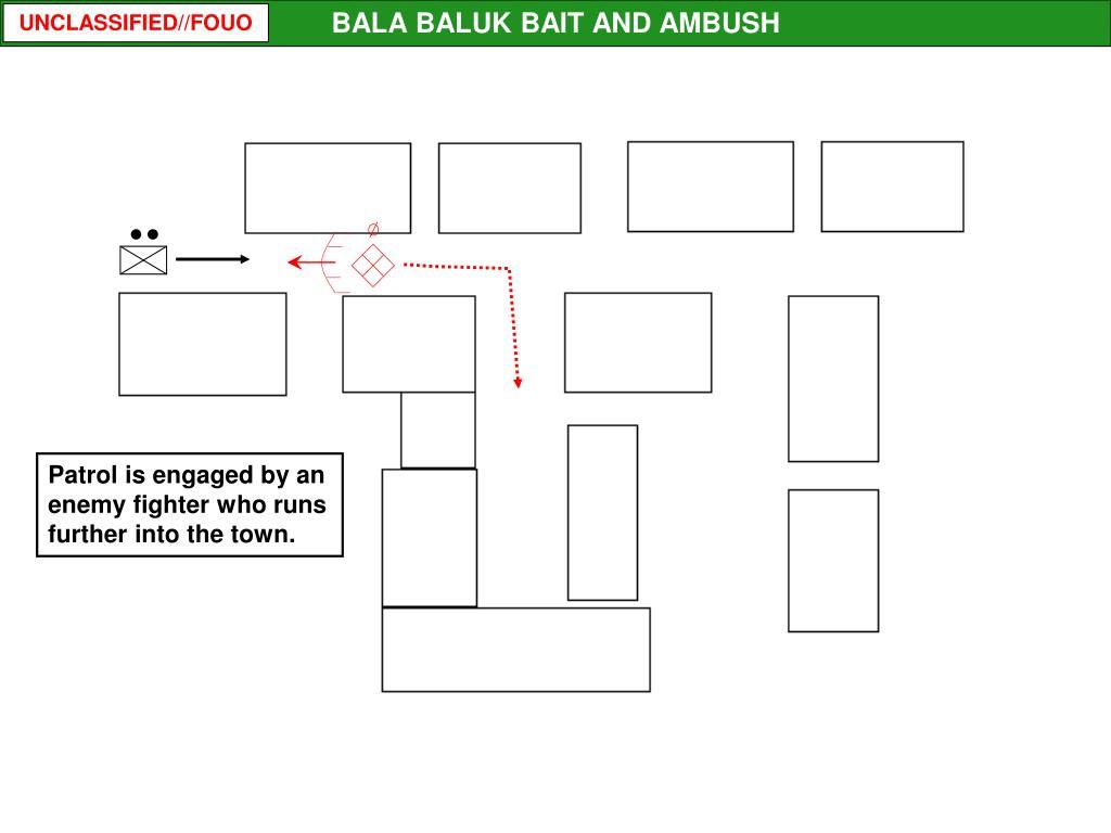 BALA BALUK BAIT AND AMBUSH