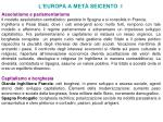 l europa a met seicento i