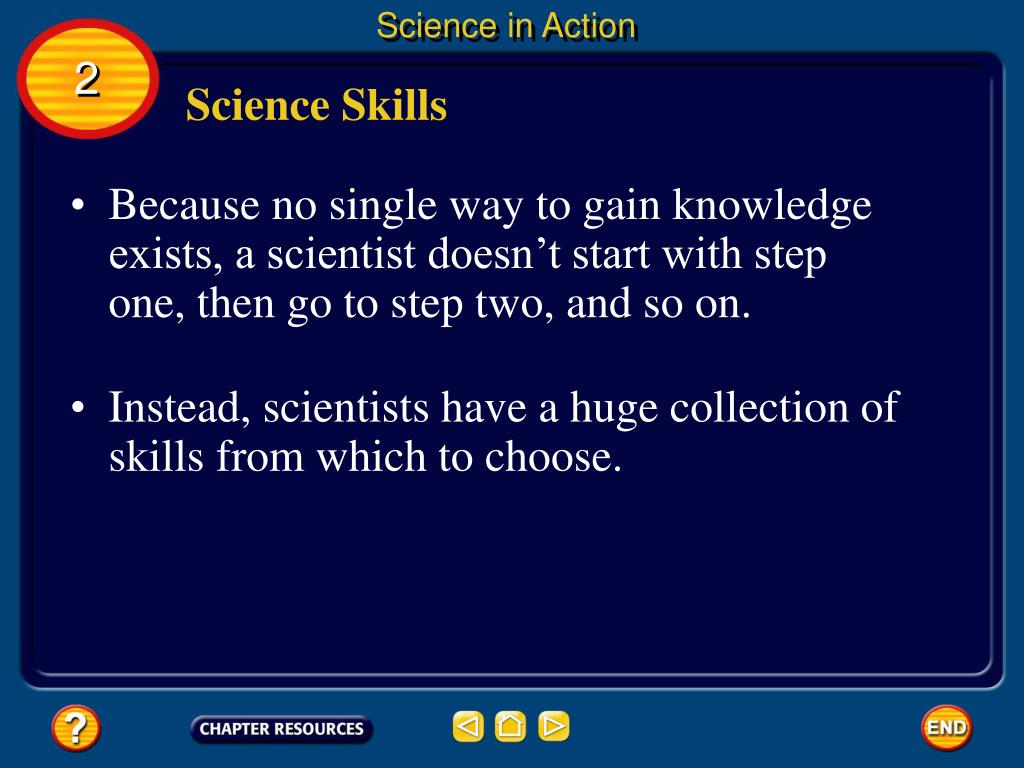 Science in Action