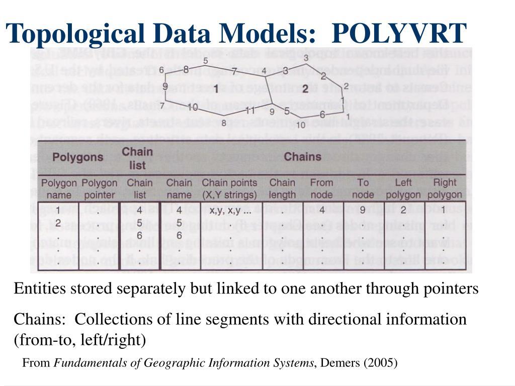 Topological Data Models:  POLYVRT