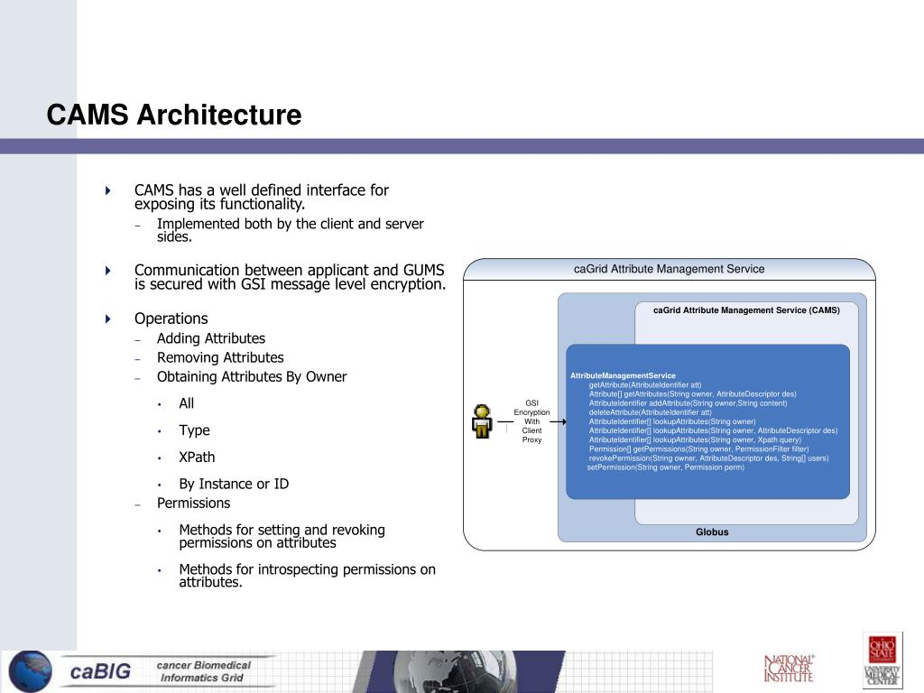 CAMS Architecture