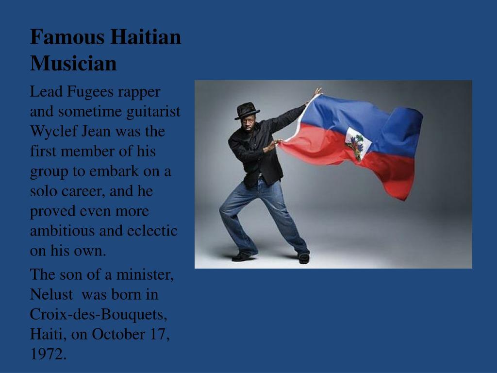 Famous Haitian Musician