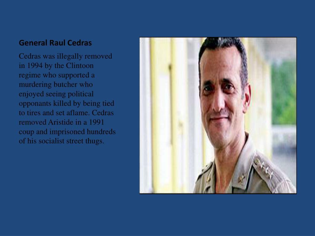 General Raul Cedras
