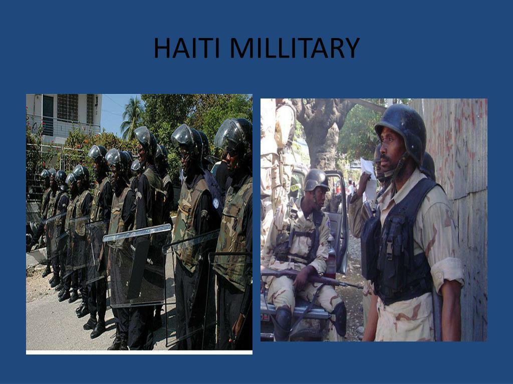 HAITI MILLITARY