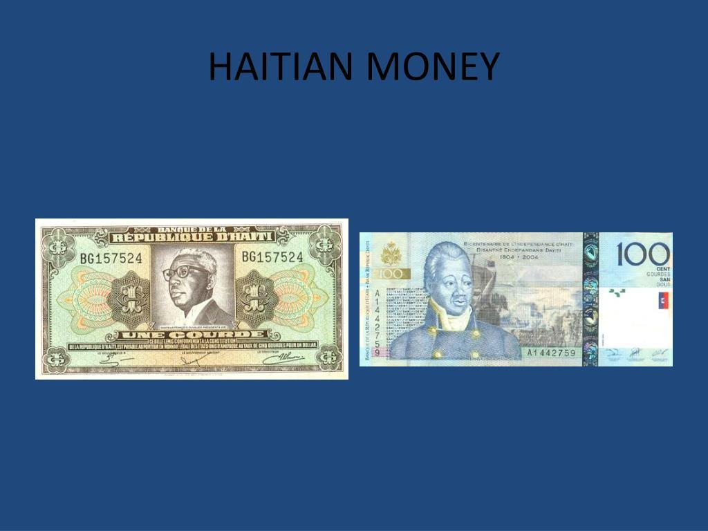HAITIAN MONEY