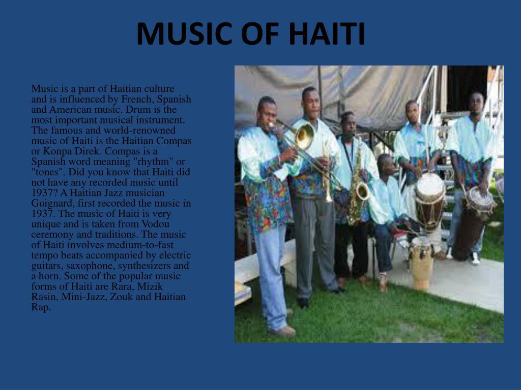 MUSIC OF HAITI