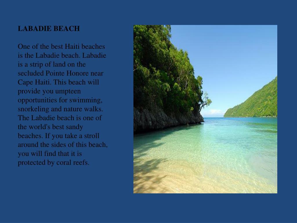 LABADIE BEACH