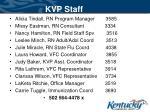 kvp staff