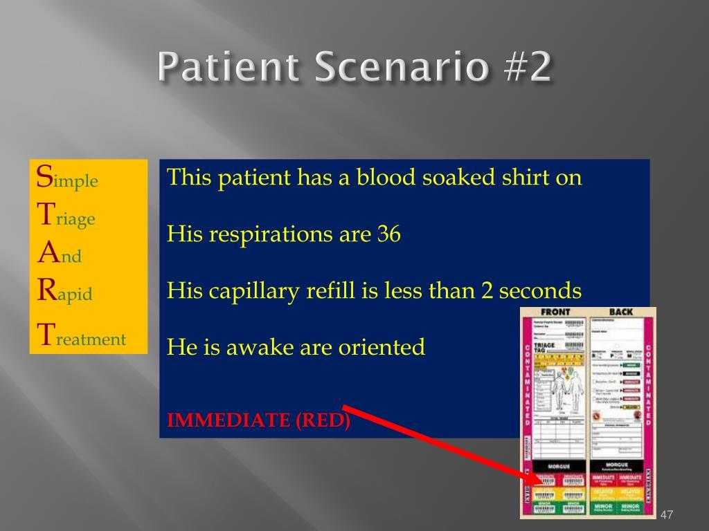 Patient Scenario #2