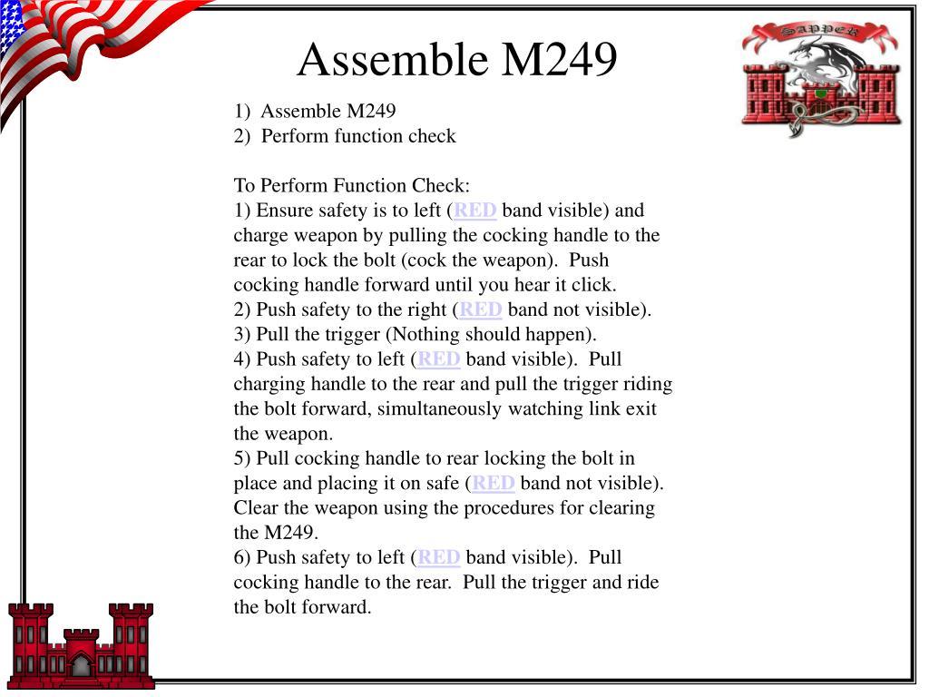 Assemble M249