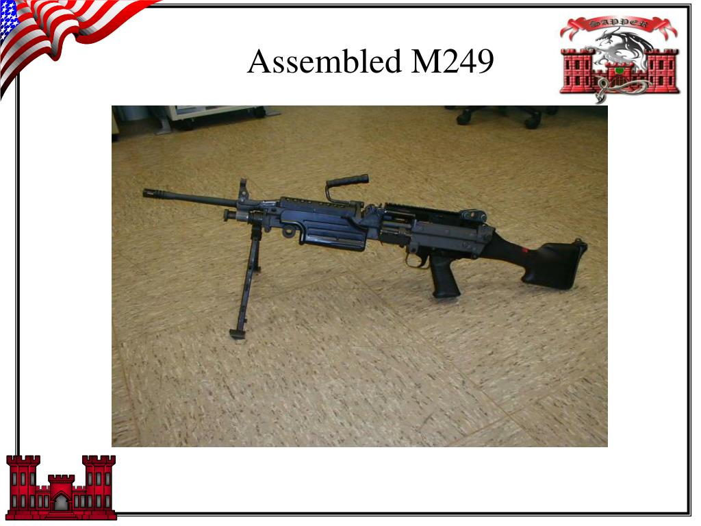Assembled M249