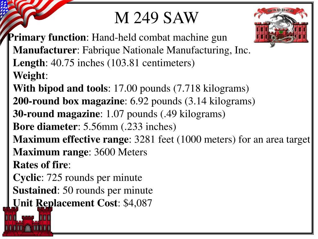 M 249 SAW